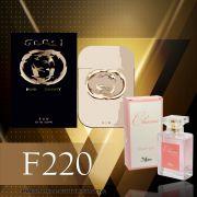 Perfume F225 Inspirado no Gucci Guilty da Gucci Feminino