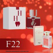 Perfume F22 Inspirado no CH da Carolina Herrera Feminino