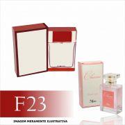 Perfume F23 Inspirado no Chic da Carolina Herrera Feminino