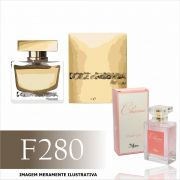 Perfume F280 Inspirado no The One da Dolce & Gabbana Feminino