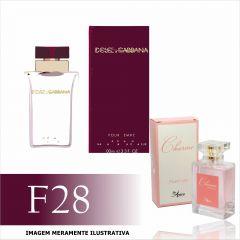 Perfume F28 Inspirado no Dolce & Gabbana Pour Femme Feminino