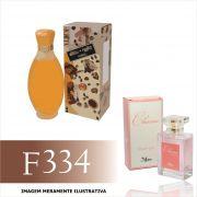 Perfume F334 Inspirado no Café Café da Café Café Paris Feminino