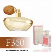 Perfume F360 Inspirado no Lily da O Boticário Feminino