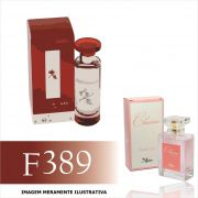 Perfume F389 Inspirado no The Rouge da Bvlgari Feminino