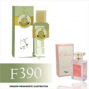 Perfume F390 Inspirado no The Vert da Roger & Gallet Feminino