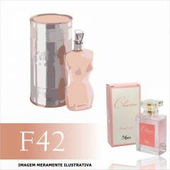 Perfume F42 Inspirado no Jean Paul Gaultier Classique Feminino