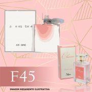 Perfume F45 Inspirado no La Vie Est Belle da Lancôme Feminino