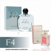Perfume F4 Inspirado no Acqua Di Gioia da Giorgio Armani Feminino