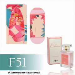 Perfume F51 Inspirado no 212 Surf for Her da Carolina Herrera Feminino