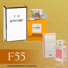 Perfume F55 Inspirado no N° 5 da Chanel Feminino