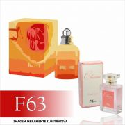 Perfume F63 Inspirado no Amor Amor Summer da Cacharel Feminino