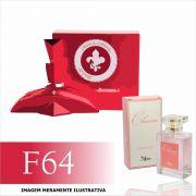 Perfume F64 Inspirado no Rouge Royal da Marina de Bourbon Feminino