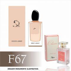 Perfume F67 Inspirado no Sì da Giorgio Armani Feminino