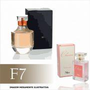 Perfume F7 Inspirado no Una Natura da Natura Feminino