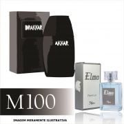 Perfume M100 Inspirado no Drakkar Noir da Guy Laroche Masculino