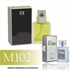 Perfume M102 Inspirado no Eternity da Calvin Klein Masculino