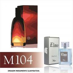 Perfume M104 Inspirado no Fahrenheit da Christian Dior Masculino