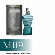 Perfume M119 Inspirado no Le Male da Jean Paul Gaultier Masculino