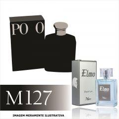 Perfume M127 Inspirado no Polo Black da Ralph Lauren Masculino
