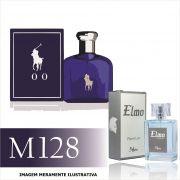Perfume M128 Inspirado no Polo Blue da Ralph Lauren Masculino