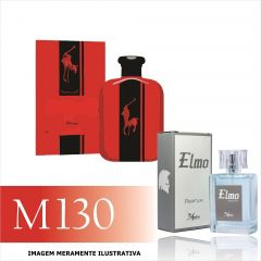 Perfume M130 Inspirado no Polo Red Intense da Ralph Lauren Masculino