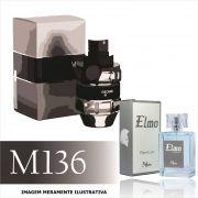 Perfume M136 Inspirado no Spicebomb da Viktor&Rolf Masculino
