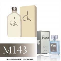Perfume M143 Inspirado no CK One da Calvin Klein Masculino
