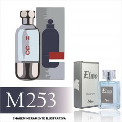 Perfume M253 Inspirado no Boss Element da Hugo Boss Masculino