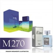 Perfume M270 Inspirado no Cocktail Seduction Blue da Antonio Banderas Masculino