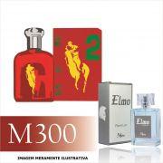 Perfume M300 Inspirado no Big Pony 2 da Ralph Lauren Masculino