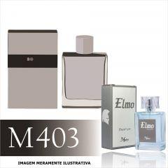 Perfume M403 Inspirado no Boss Selection da Hugo Boss Masculino