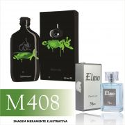 Perfume M408 Inspirado no CK One Shock For Him da Calvin Klein Masculino