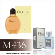 Perfume M436 Inspirado no Obsession For Men  da Calvin Klein Masculino