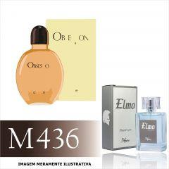 Perfume M436 Inspirado no Obsession For Men  da Calvin Klein Masculino