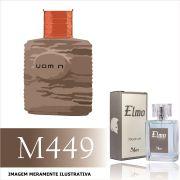 Perfume M449 Inspirado no Uomini da O Boticário Masculino