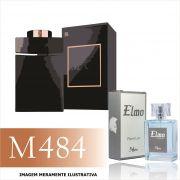 Perfume M484 Inspirado no Bvlgari Man In Black da Bvlgari Masculino