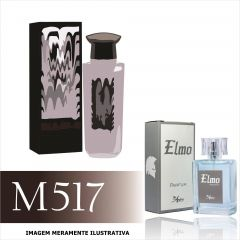 Perfume M517 Inspirado no Mister Diavolo da Antonio Banderas Masculino