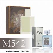 Perfume M542 Inspirado no Amber da Mahogany Masculino