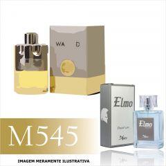 Perfume M545 Inspirado no Wanted da Azzaro Masculino