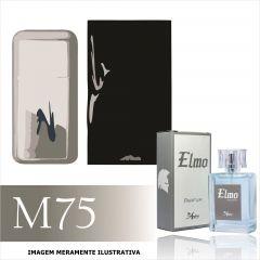 Perfume M75 Inspirado no 212 Vip  da Carolina Herrera Masculino
