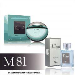Perfume M81 Inspirado no Aqva Marine da Bvlgari Masculino