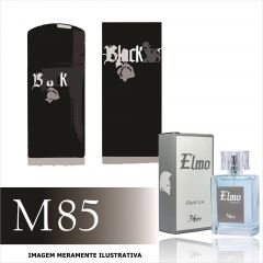 Perfume M85 Inspirado no Black XS da Paco Rabanne Masculino