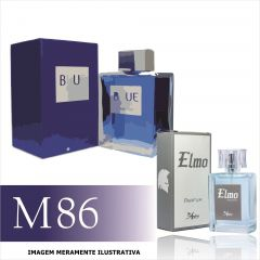 Perfume M86 Inspirado no Blue Seduction da Antonio Banderas Masculino