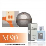 Perfume M90 Inspirado no Boss In Motion da Hugo Boss Masculino