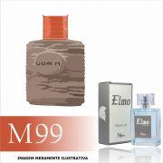 Perfume M99 Inspirado no Uomini da O Boticário Masculino
