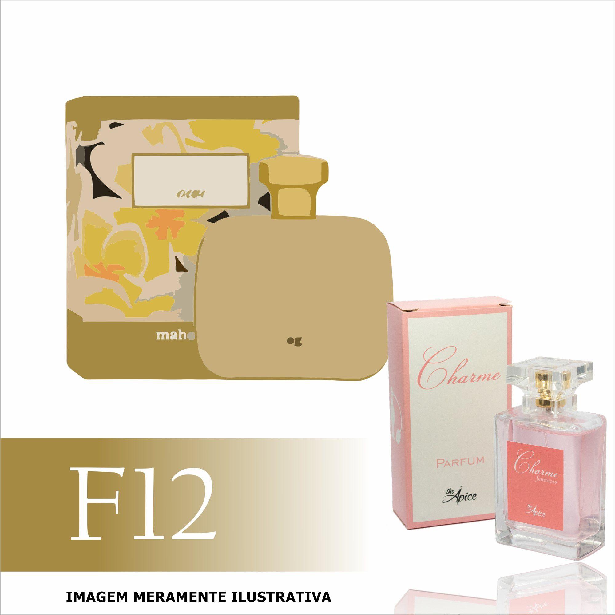 Perfume F12 Inspirado no Frangipani Flower da Mahogany Feminino