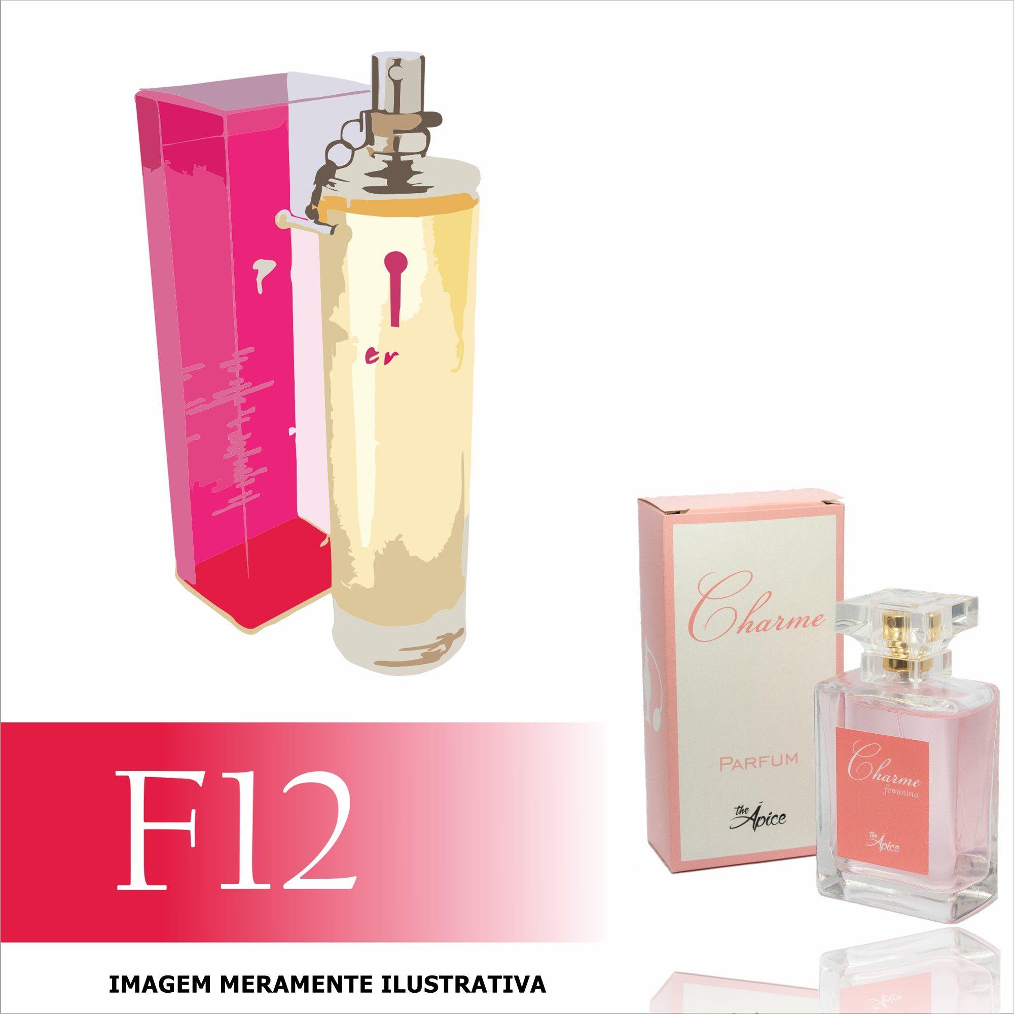 Perfume F12 Inspirado no Piercing ela da L'acqua Di Fiori Feminino