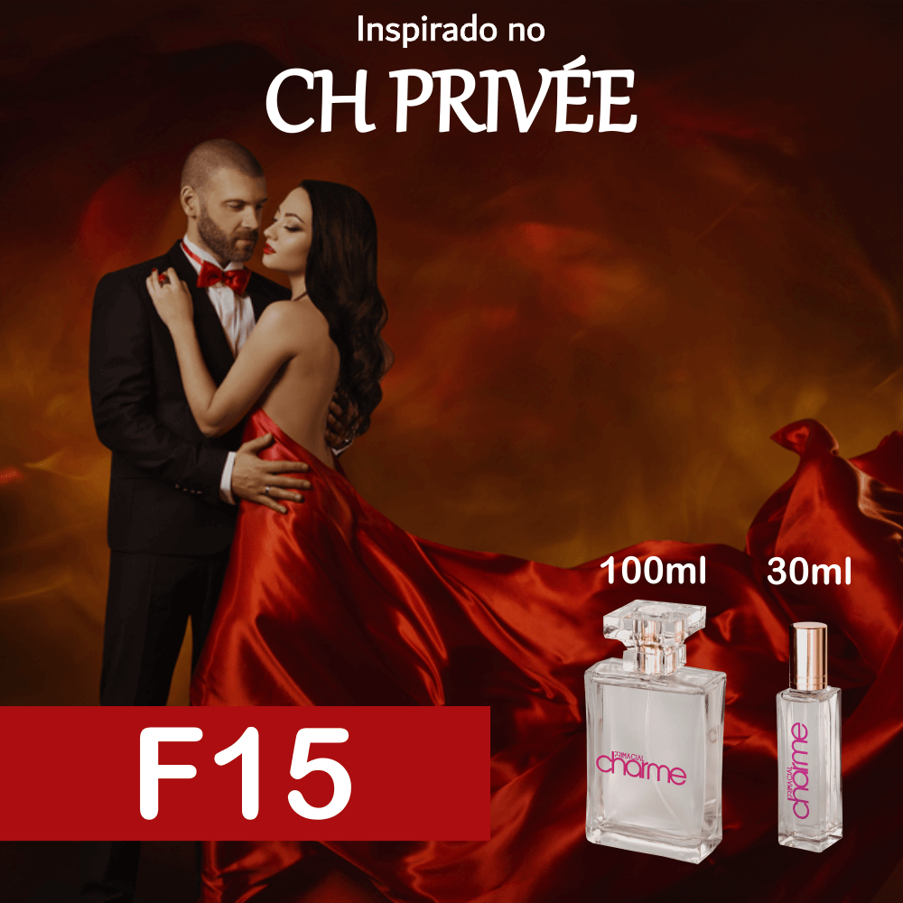 Perfume F15 Inspirado no CH Privée Feminino