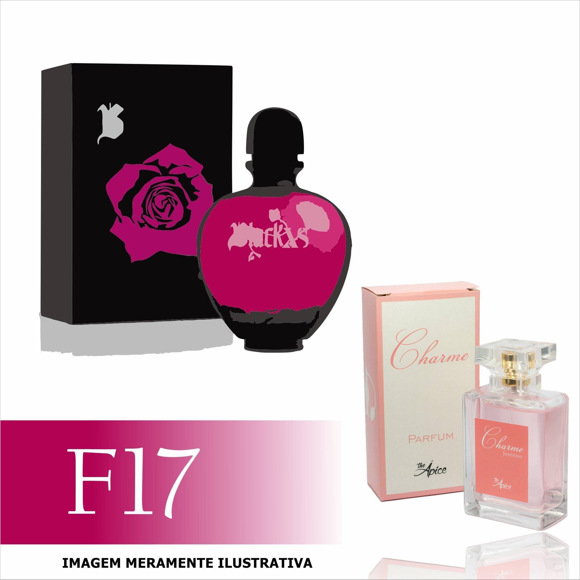 Perfume F17 Inspirado no Black XS da Paco Rabanne Feminino