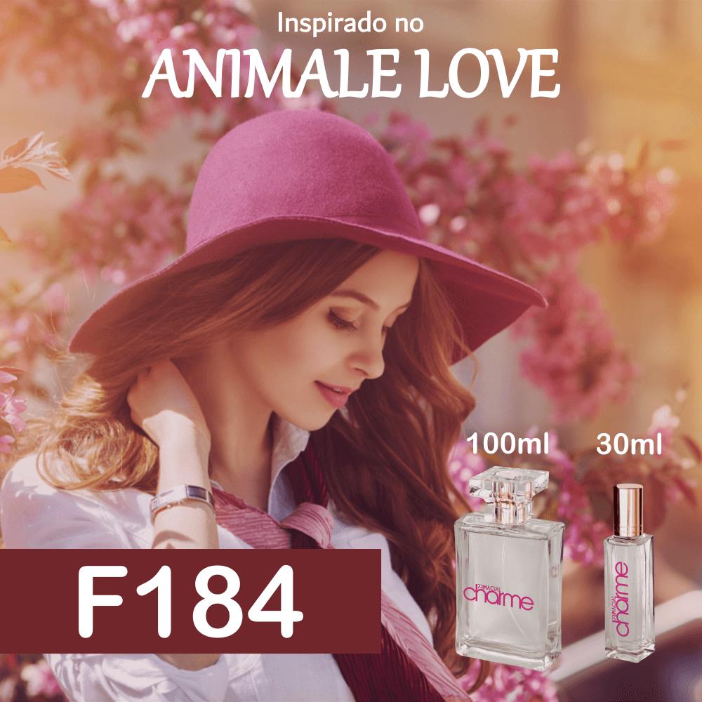 Perfume F184 Inspirado no Animale Love Feminino